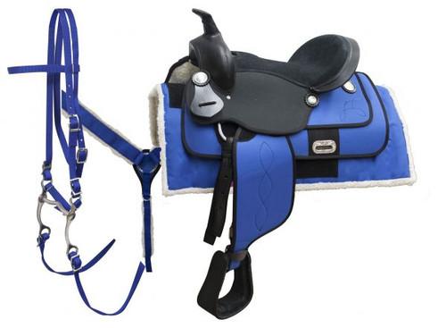 "16"" Cordura saddle package."