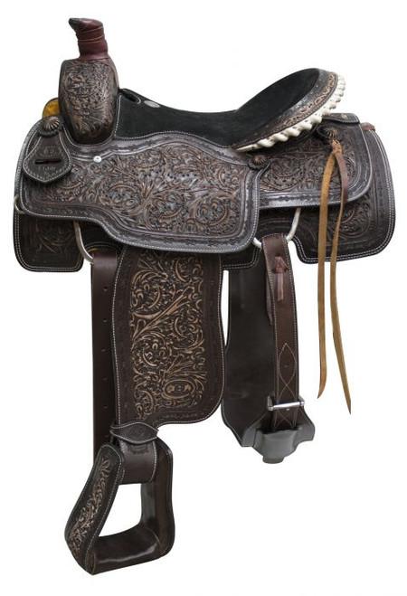 "16"" Circle S Roper saddle."