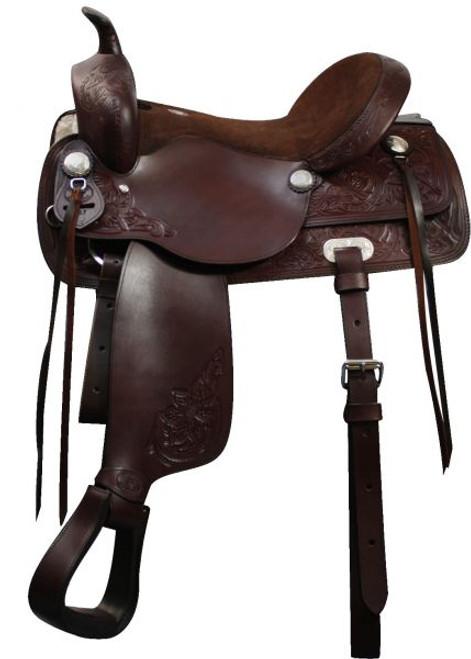 "16"", 17""  Double T Pleasure Style Saddle. Full QH Bars"
