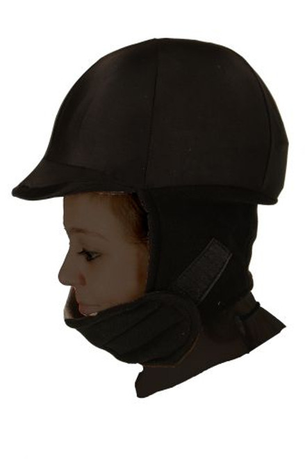 Showman ® Lycra fleece helmet cover.