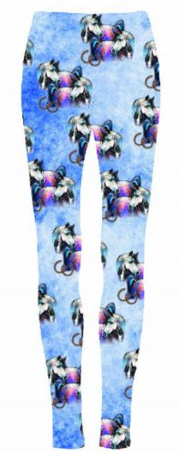 """""""Dreamcatcher Horses"""" leggings."""