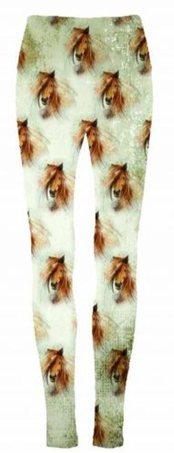 """Preppy Horse"" leggings."