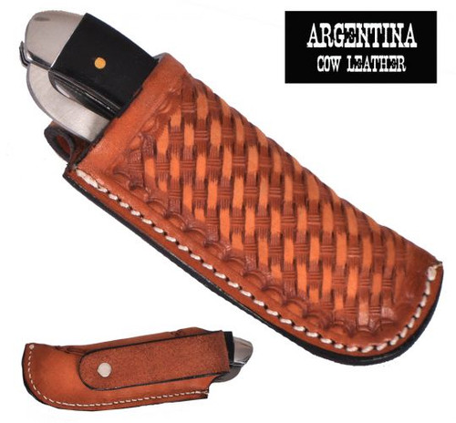 Showman ® Argentina Cow Leather Knife Sheath.