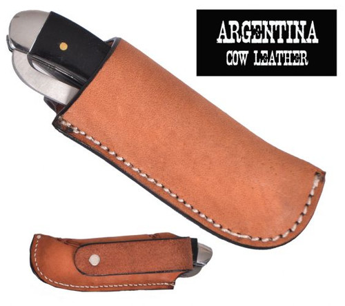 Showman ® Argentina Cow Leather Knife Sheath...