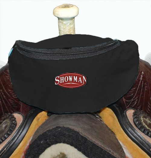 Showman ® Insulated Nylon Saddle Pouch.