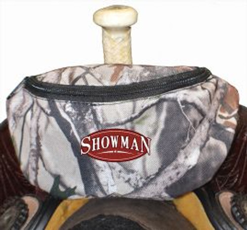 Showman ® Real Oak Insulated Nylon Saddle Pouch.