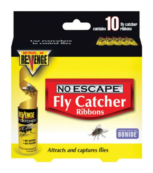 Bonide products Revenge fly catcher ribbons.