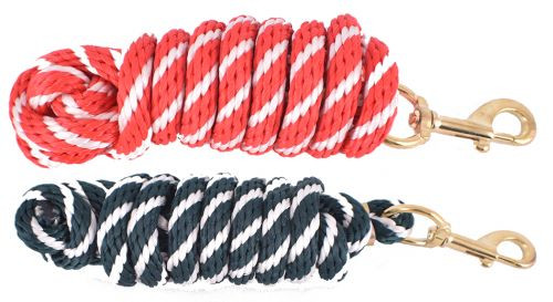 8' Braided Derby Lead Rope.