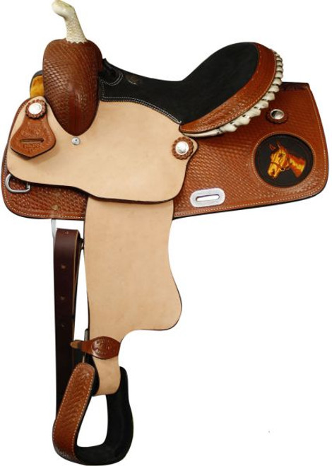 """13"""" Double T Youth/Childrens Western Saddle"""