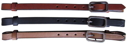 """Showman ®  Replacement 5/8"""" Leather Breastcollar Tugs. Sold by the piece (1)."""