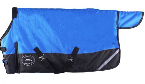 "FOAL/MINI  36""-40"" Waterproof and Breathable Showman ® 1200D Turnout Blanket with 3-Way Reflectors."