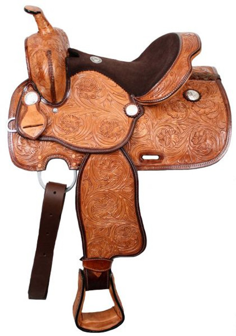 """13"""" Double T Youth Saddle With Flex Tree"""