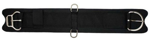 Showman Felt Girth With Neoprene Center And Double Roller Buckles