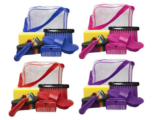 Horse Grooming Kit with Case