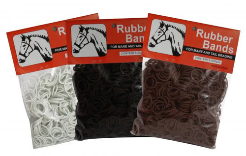 Mane and Tail Braiding Bands  / Rubber Bands