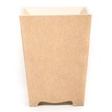 Sand Galuchat Waste Paper Bin - front
