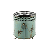 Dragonfly Oval Cache Planter- sideview