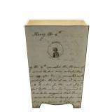 Jane Austen Waste Paper Bin - front