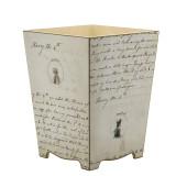 Jane Austen Waste Paper Bin - side