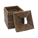 Watervine Cube Tissue - with top lid off