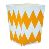 Zig Zag Moderne Waste Paper Bin - side view