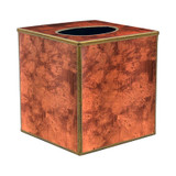 Rosewood Paint Effect Cube Tissue