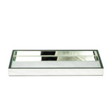 Clear Mirror Gold Perfume Tray
