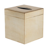 Brushed Bronze Florentine Tissue Box Cover - with lifting lid
