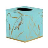 Tissue Box Cover  - Blue