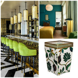 Top 2017 Green Interior Trend Ideas: Colours, Textures, Rattan, Accessories and More