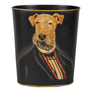 Our New Dog Art Waste Paper Bins: From Kitsch to Cool - A History of Dressed Up Dogs in Art | Must Have Bins
