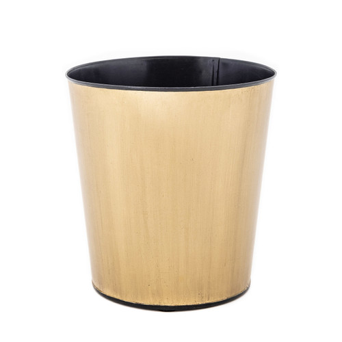 Brushed Round Bronze Waste Paper Bin