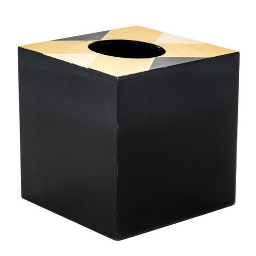 Black & Gold Art Nouvea Tissue