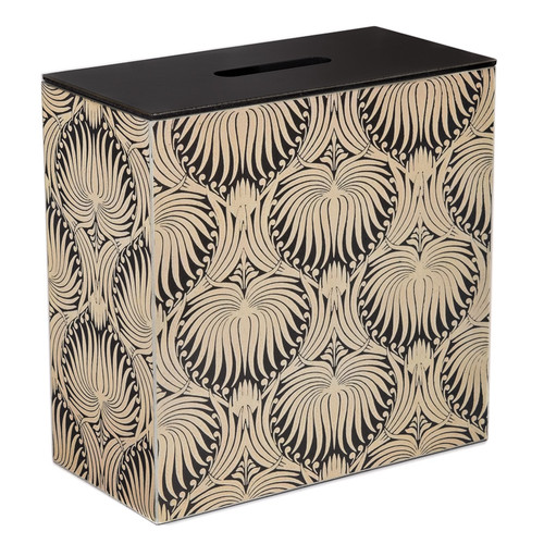 Double Bathroom Storage / Tidy Box - Silver Morris Palm