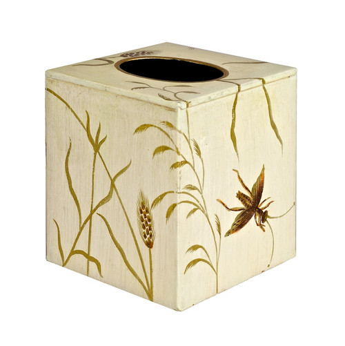 Tissue Box Cover - Ivory