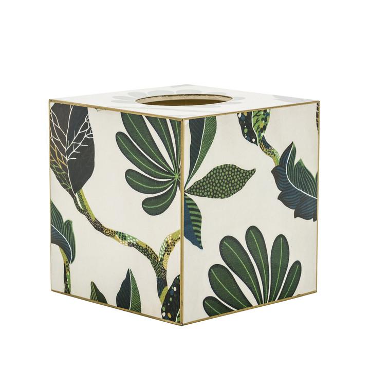 Autumn Tissue Box Cover (wood)