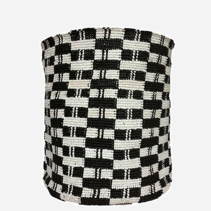 Derra Basket - made from recycled plastic carrier bags