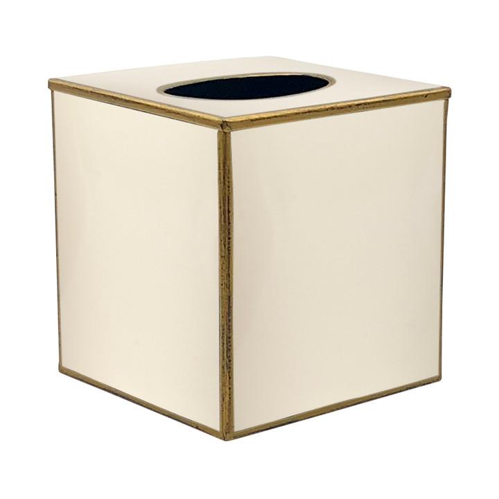 Cream Tissue Box
