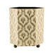 Lattice Waste Paper Bin - Ivory