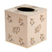 Eastern Swirl Tissue Box Cover  - Blush Ivory