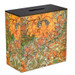 Double Bathroom Storage / Tidy Box - Orange Morris Vine