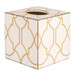 Lattice Tissue Box Cover (Wood)