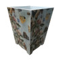 Butterflies and Shells - Country Decoupage Waste Paper Bin