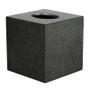 Black Galuchat Cube tissue