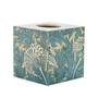 Blue Vine Tissue Box Cover (wooden)