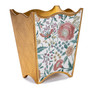 Giardino Waste Paper Basket - side view