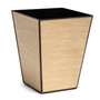 Blonde Lines Tapered Bin - side view