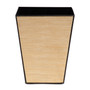 Blonde Lines Tapered Bin - front view