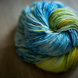 Forget Me Knot Hand Dyed Sock Yarn