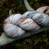 Owl Hand Dyed Sock Yarn 2